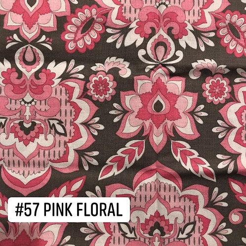 Pink Floral Face Mask
