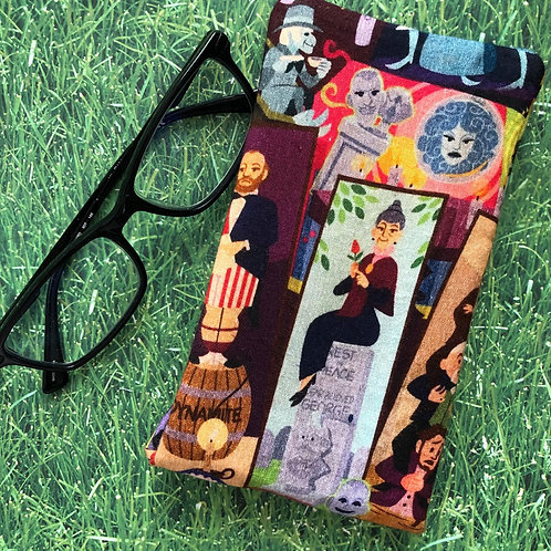 Haunted Mansion Soft Eyeglass Case