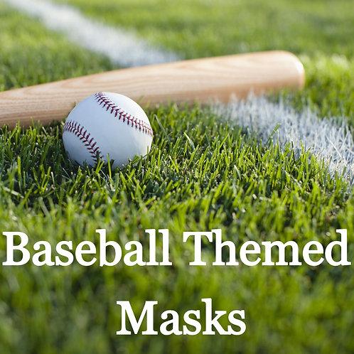 Baseball Themed Masks