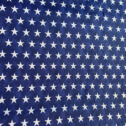 Navy Stars Face Mask
