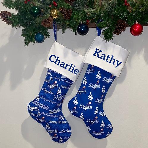 Dodgers Stockings