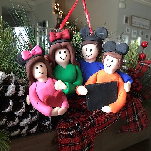 Disney Family Portrait Ornament