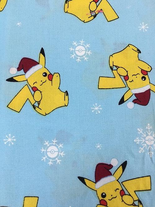 Pikachu Christmas Face Mask