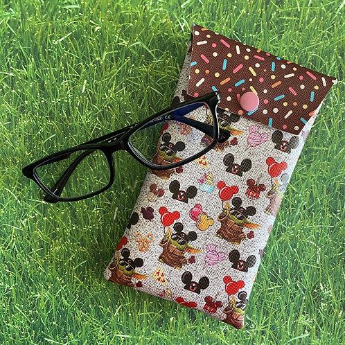 Baby Yoda Faux Leather Soft Eyeglass Case