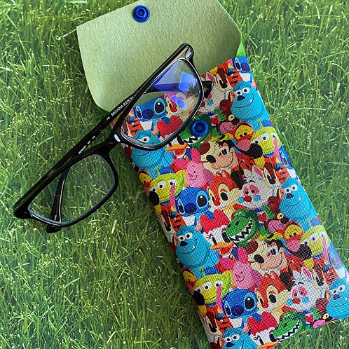 Stitch & Pals Faux Leather Soft Eyeglass Case