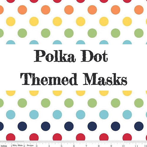 Polka Dot Patterns Face Masks