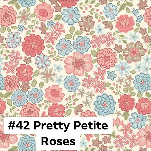 Pretty Petite Roses Face Mask