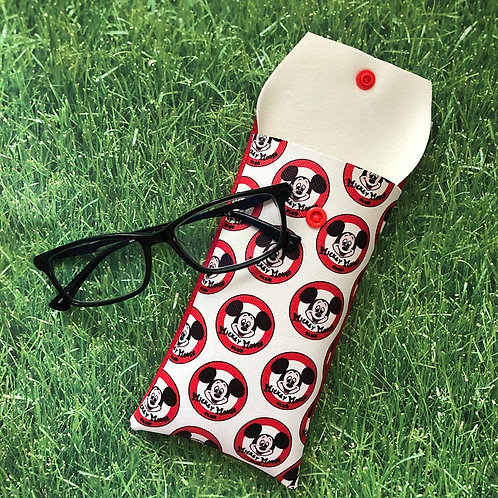 Mickey Mouse Club Soft Eyeglass Case