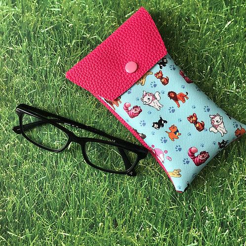 Disney Cats Soft Eyeglass Case