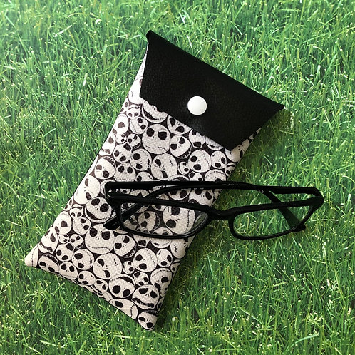 Nightmare Before Christmas Faux leather Soft Eyeglass Case