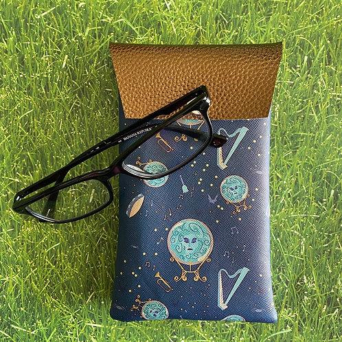 Madame Leota Faux Leather Soft Eyeglass Case