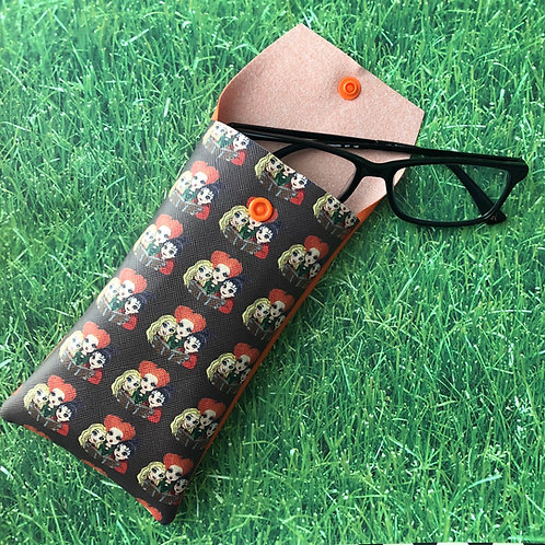 Hocus-Pocus Faux leather Soft Eyeglass Case