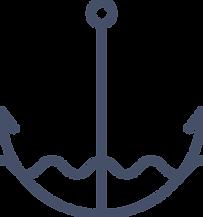 Marine undervanns anker