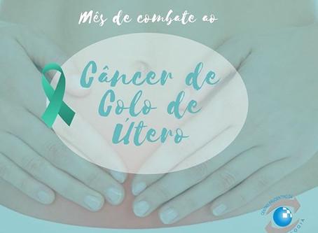 Janeiro: mês de combate ao Câncer de Colo de Útero