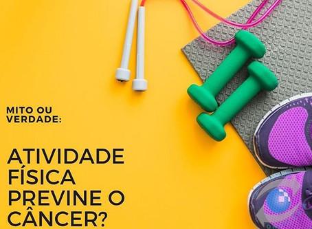 Atividade física previne o câncer?