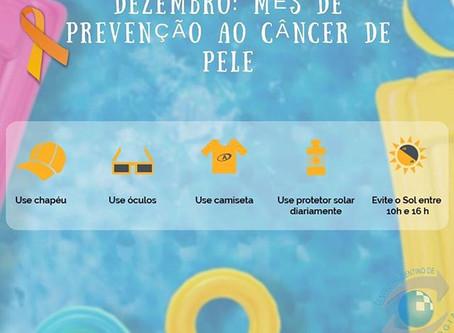 Dezembro Laranja: prevenção ao câncer de pele