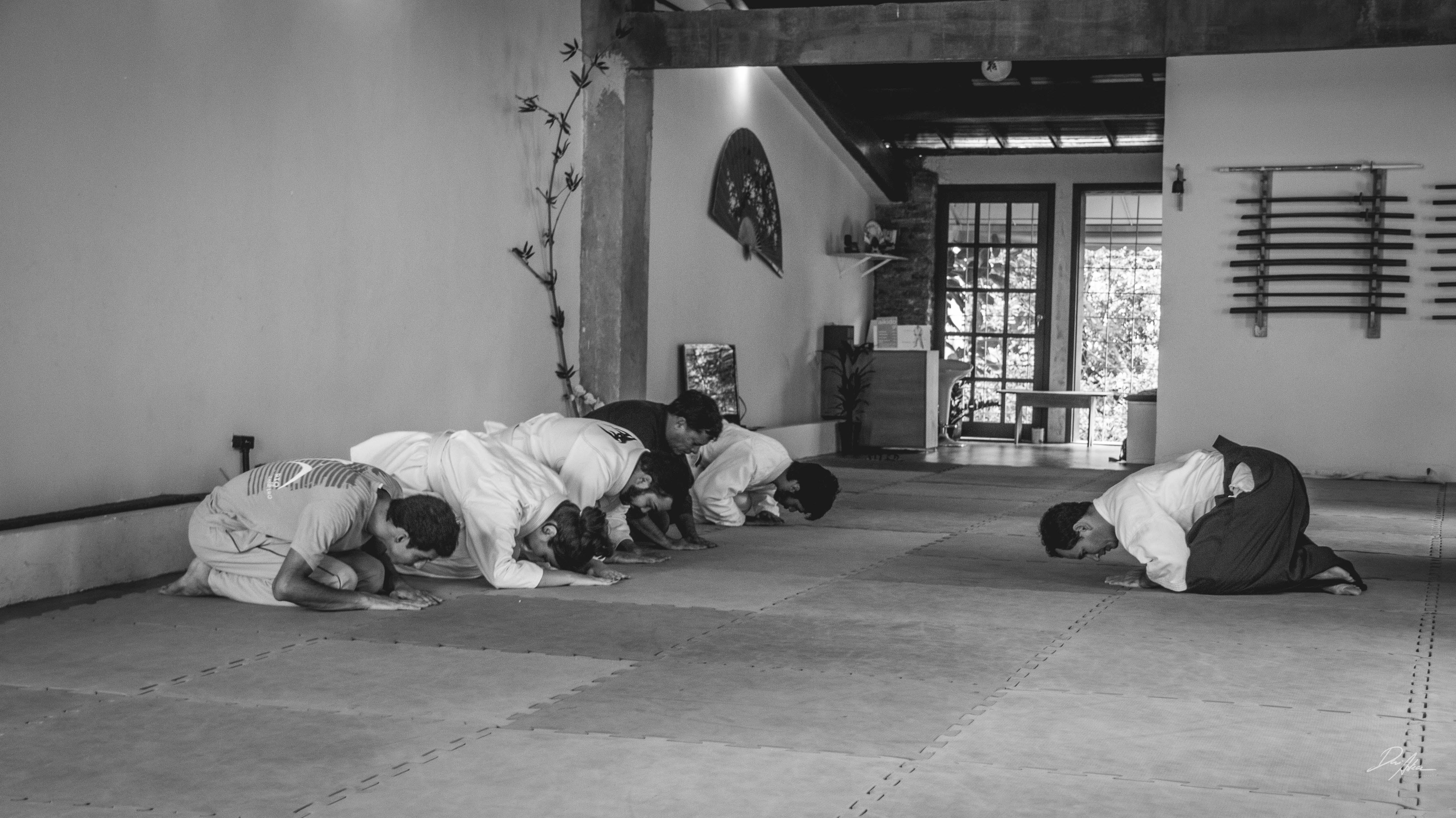 Aikido em P&b-2
