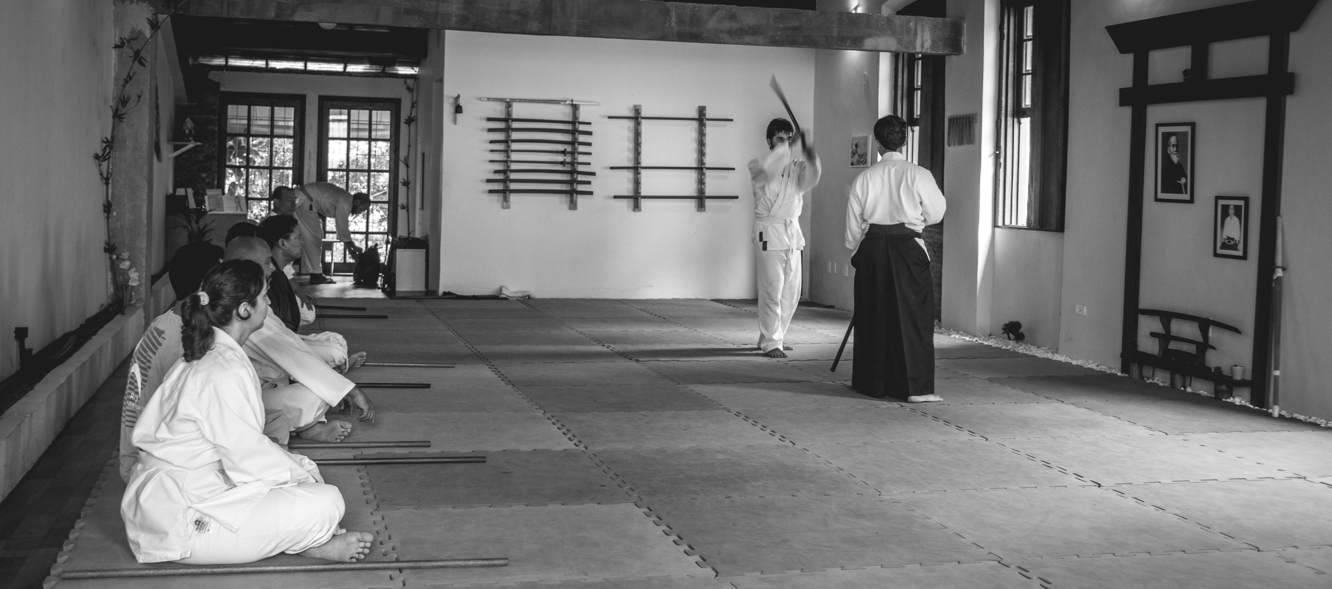 Aikido em P&b-34
