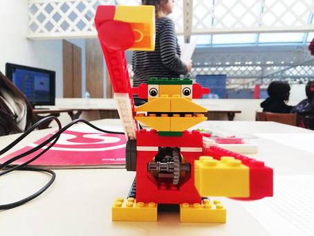 Lego Wedo: a l'ESO construim robots