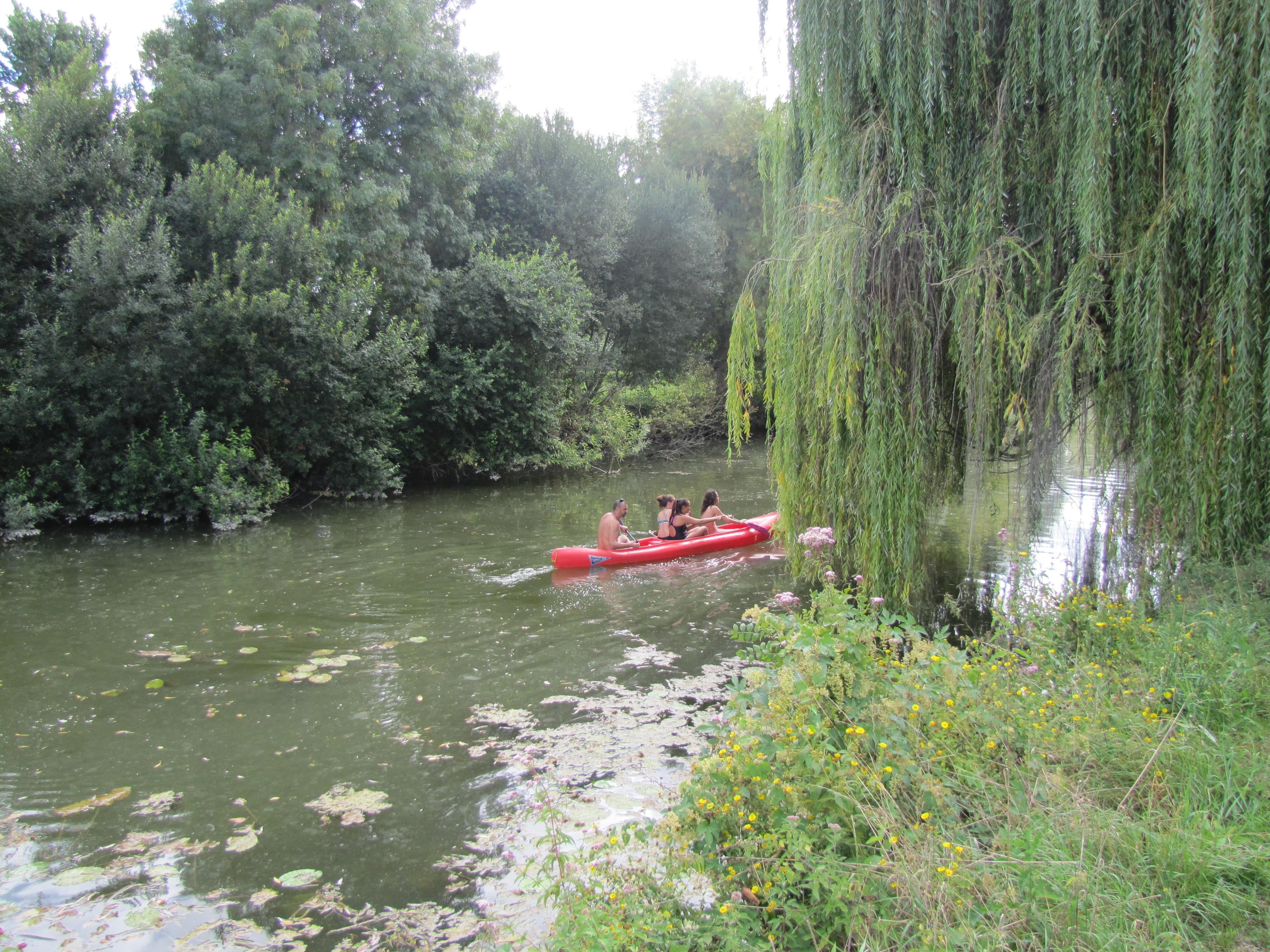canoë sur la Boutonne