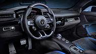 Alcantara Interior of the Maserati MC20