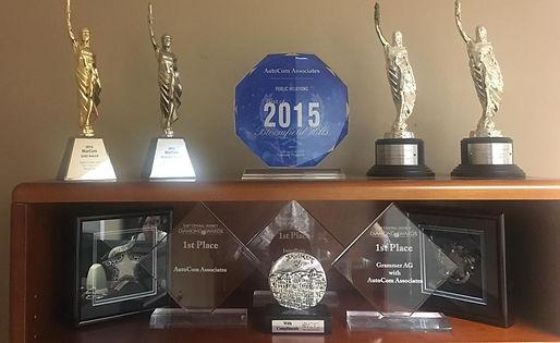 Public Relations Awards from AutoCom Associates