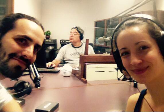 Thank you David Calderon for this opportunity to share our music with your listeners.