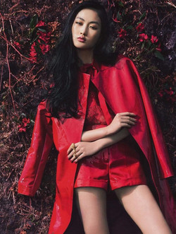 Red Fashion Roxx! on Jing