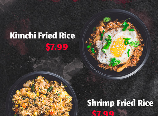 Now Serving Fried Rice