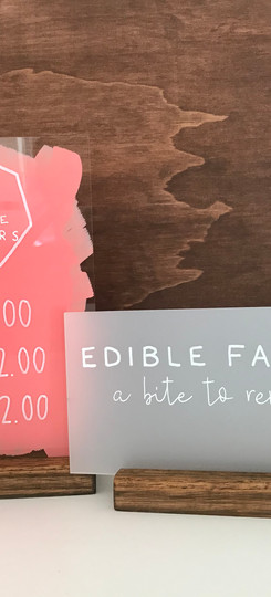 Edible Favours