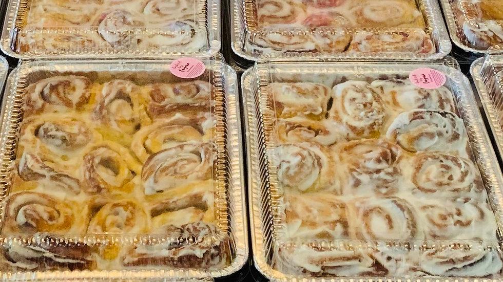 Cinnamon Rolls Half dozen - PICKUP