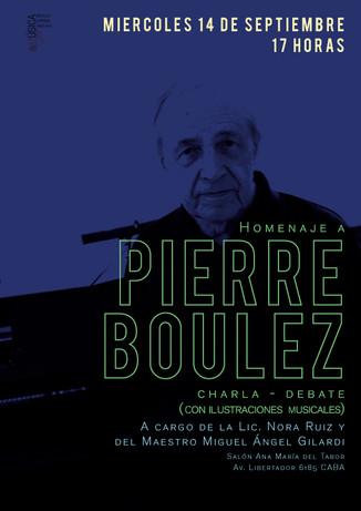 Homenaje a Pierre Boulez