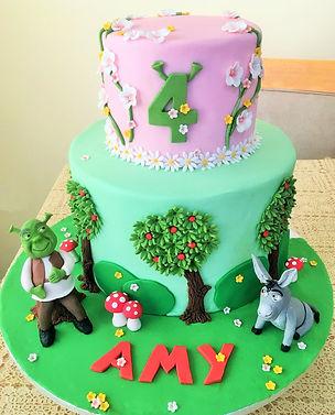 Shrek Birthday Cake Novelty Cake Cupcakes Mancheter Bury