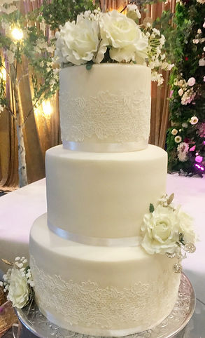 Classic Vintage Lace Wedding Cakes, Birthday Cakes, Ruffles, Halal Cakes, Cupcakes, Manchester, Bury