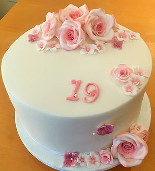 Wedding Cakes, Classic Fondant Roses, Birthday Cakes, Manchester, Cheap Cakes, Bury, Prestwich
