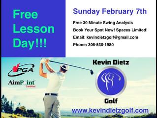 Free Lesson Day! Sunday Feb. 7th, 2016