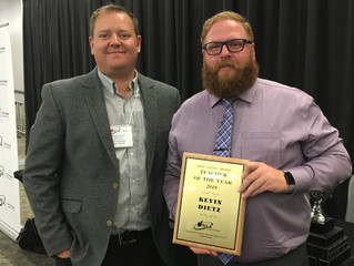 Kevin Dietz Honoured with Awards