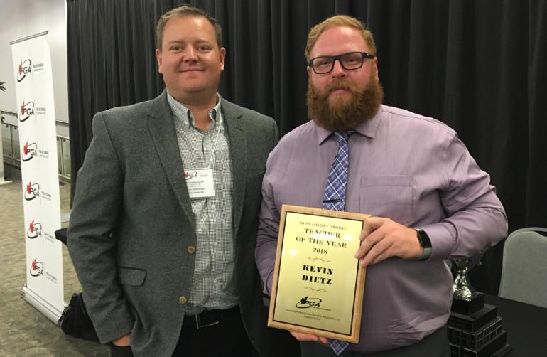 PGA of SK Teacher of the Year