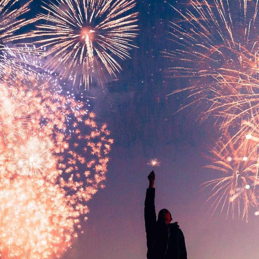 New Year's Eve Meditation led by an SRF monastic