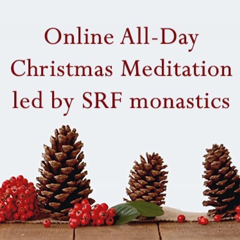 Online All-Day Christmas Meditation Led by SRF monastics