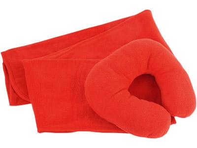 набор плед с подушкой