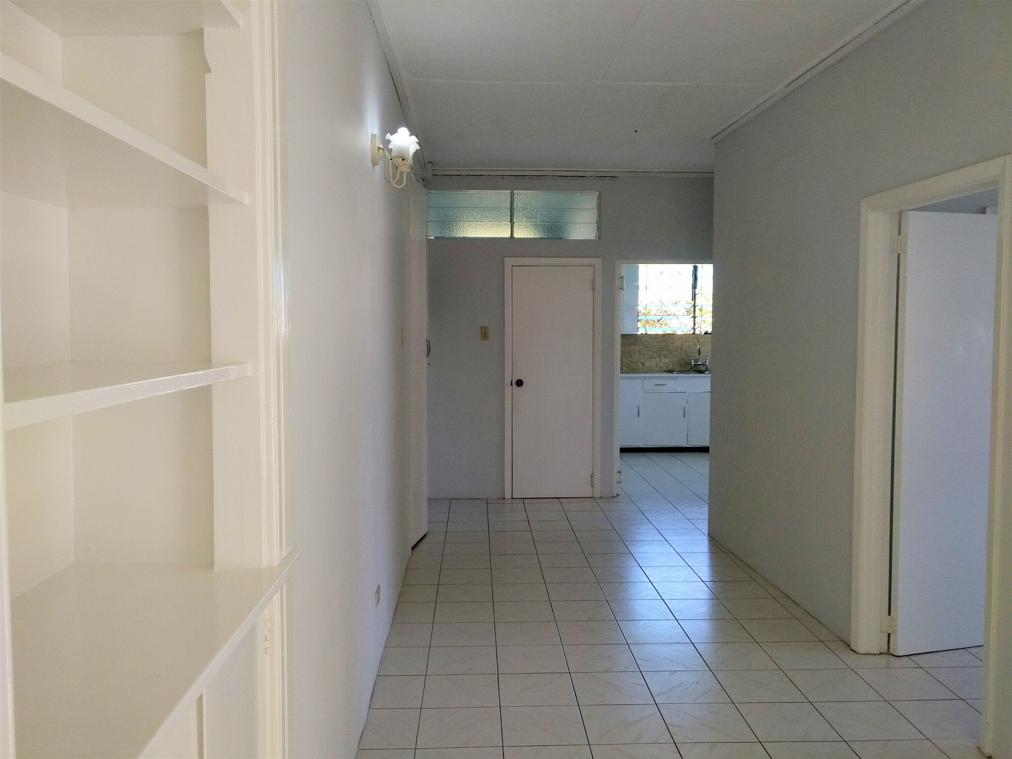 Hallway, Hastings Apartment