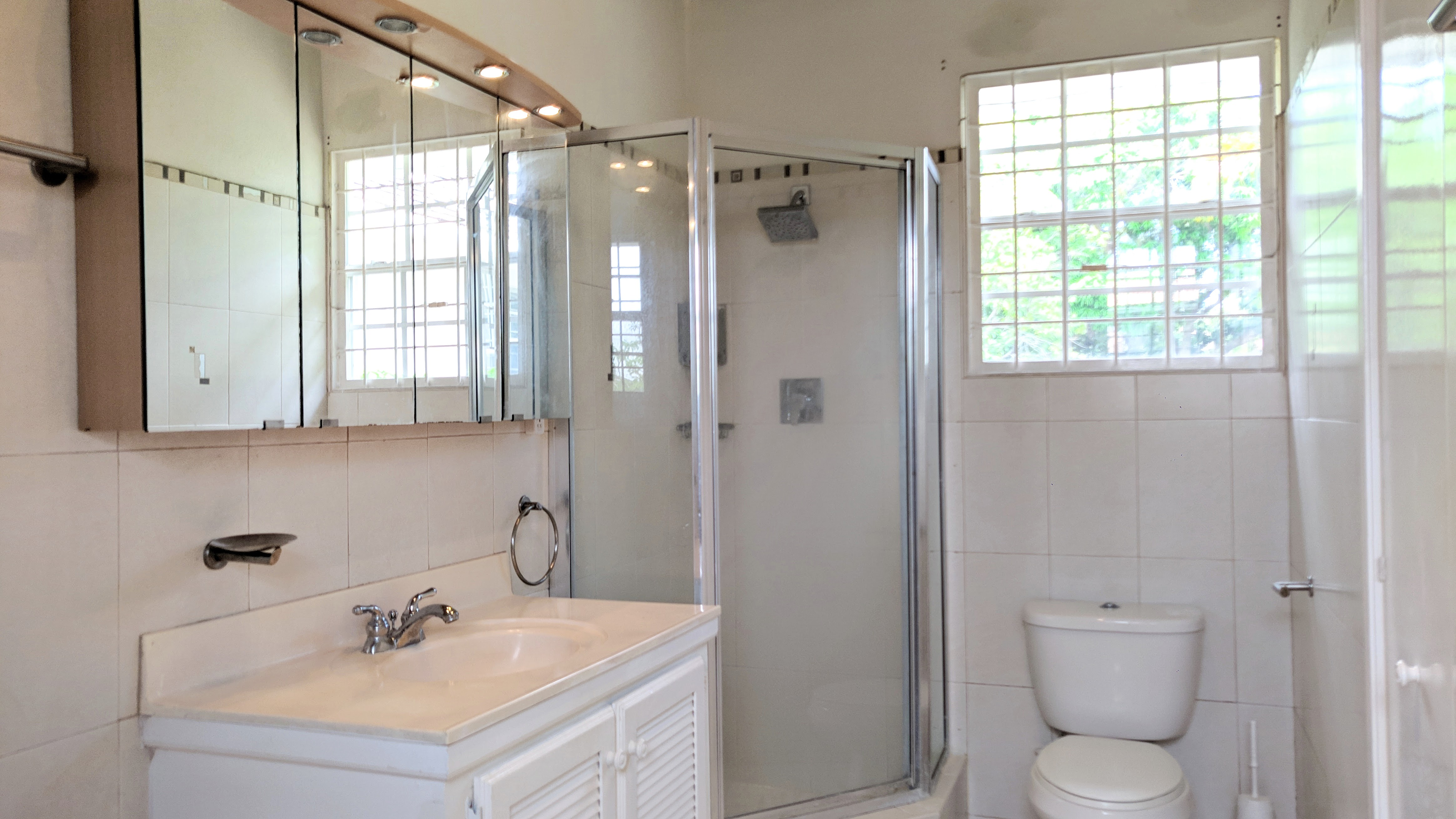 Master Bathroom, Clearview, St. James