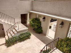 Courtyard, Club Morgan