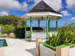 Pool Deck and Gazebo, The Mount, St. George