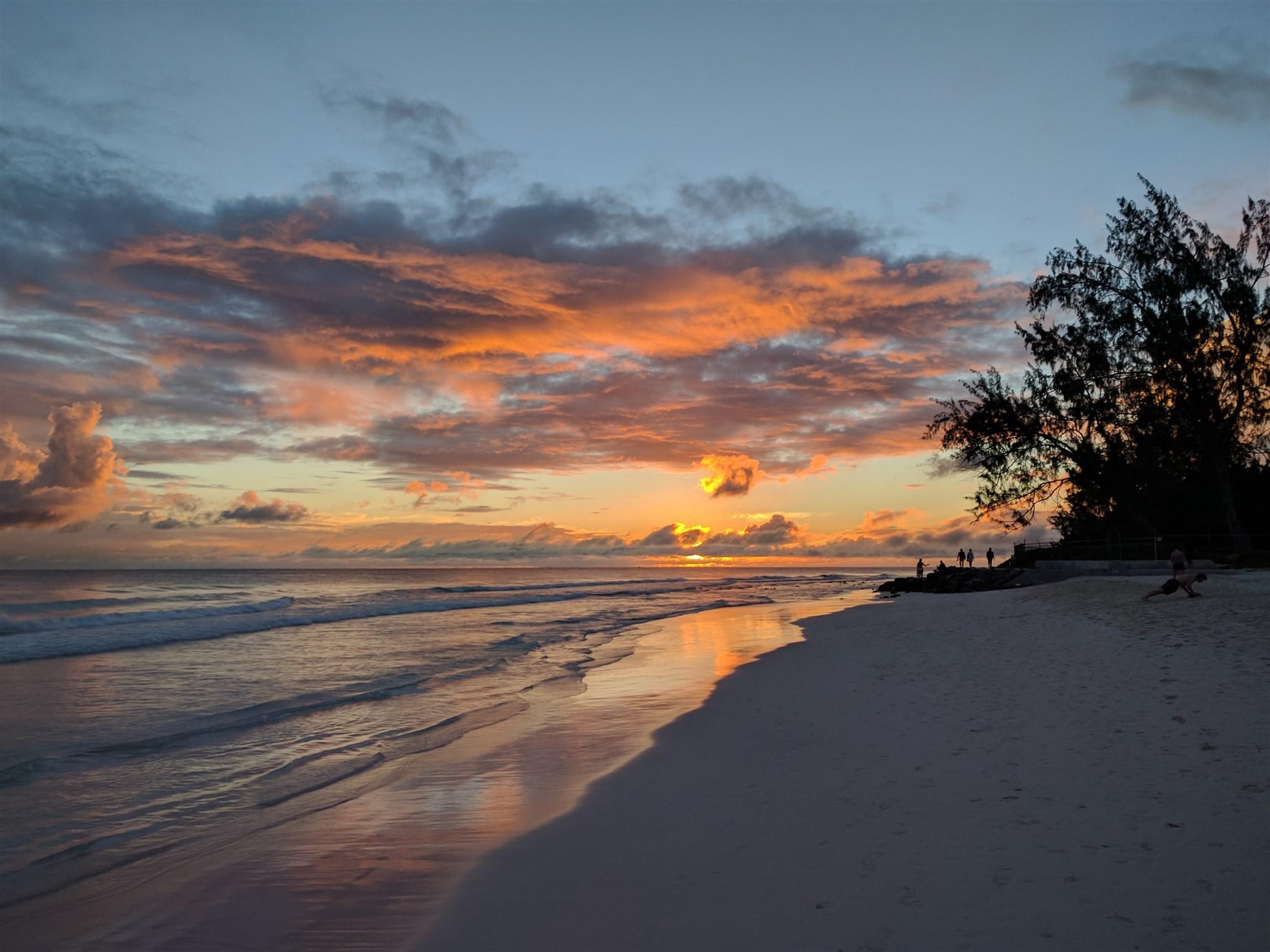 Accra Beach Sunset, Barbados
