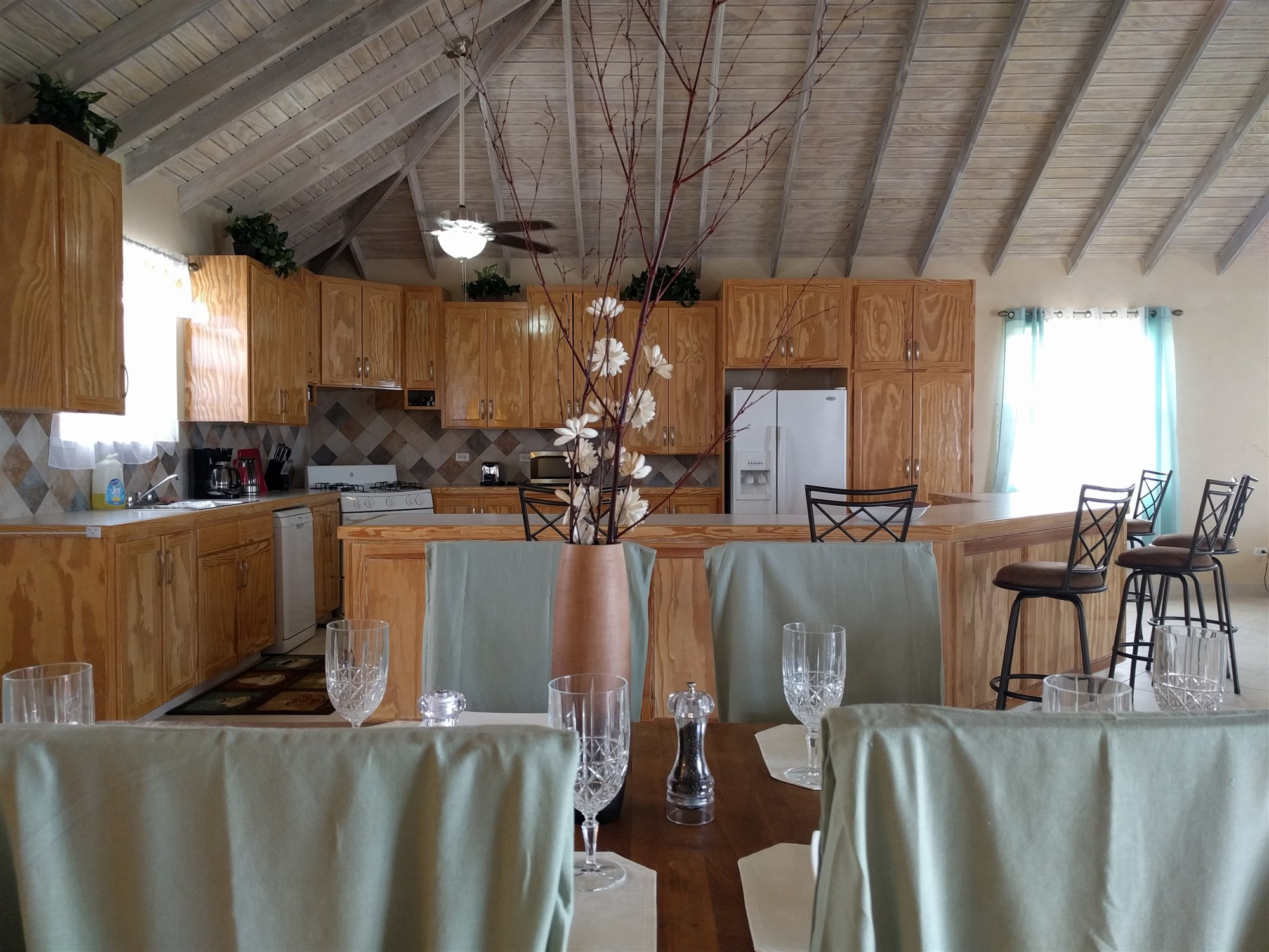 Dining/Kitchen, St. Silas, St. James