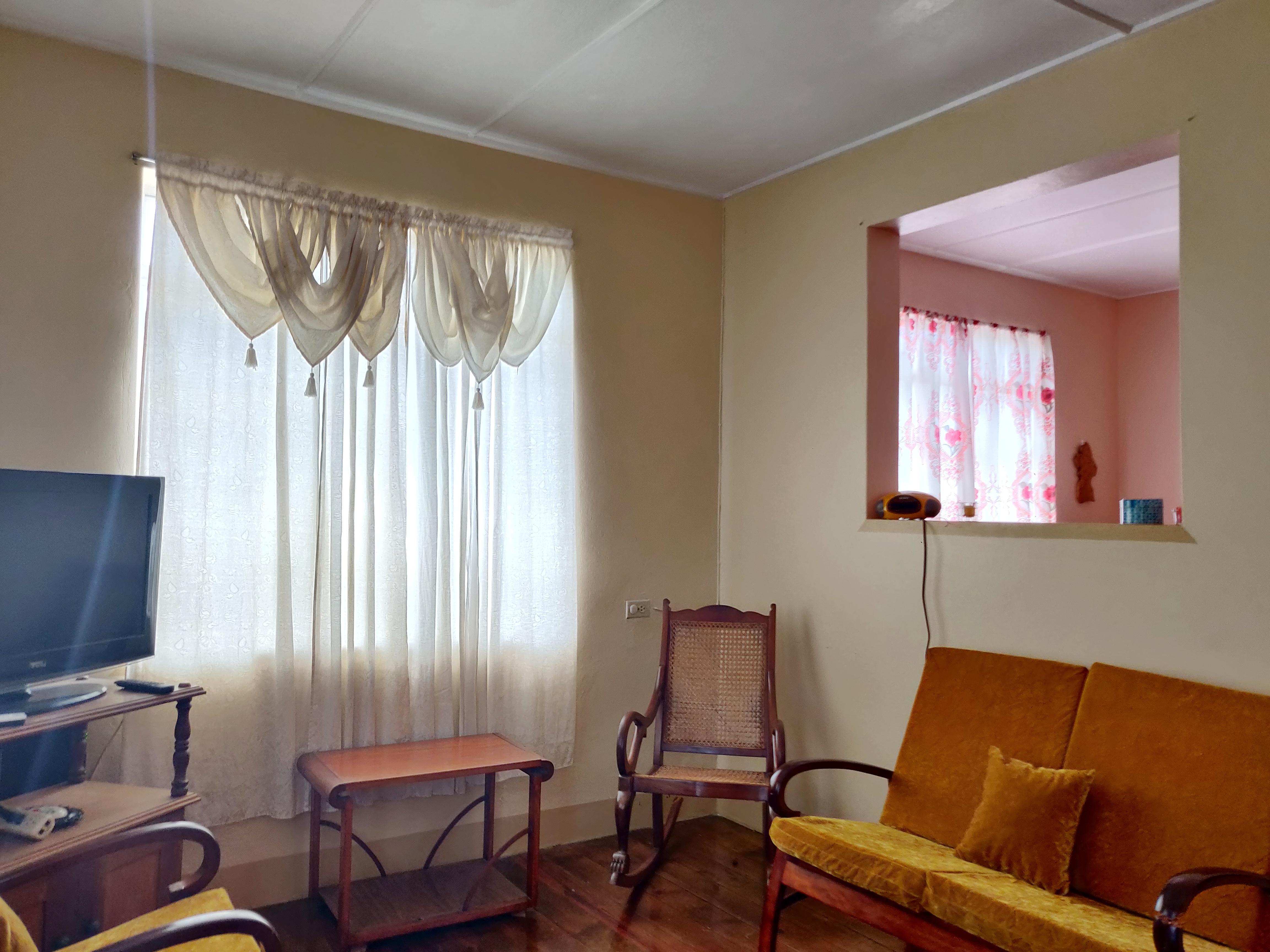Living Room, Haggatt Hall, St. Michael