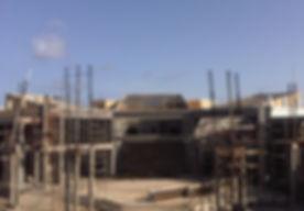 Community College building under construction, Atlantic Engineering Inc.