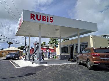Rubis Service Station, Barbados